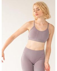 W Concept - Kate Active Bra - Grey Ridge Fm001bt - Lyst