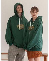 TARGETTO - [unisex] Tgt Logo Hoodie Green - Lyst