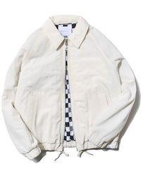 LIFUL MINIMAL GARMENTS - [unisex]back Zip Pocket Jacket Ivory - Lyst