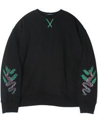W Concept - Carib Sweatshirt(black) - Lyst
