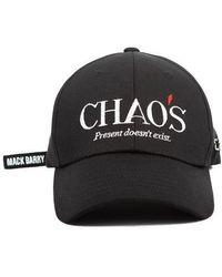MACK BARRY - [unisex] Chaos Curve Cap Black - Lyst