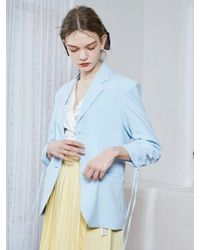 bpb - Skyblue Shirring Jacket - Lyst