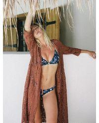 DAZE DAYZ - Amber Lace Robe - Lyst