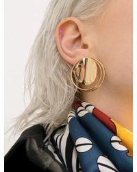 VIOLLINA - Full Moon Earrings_gold - Lyst