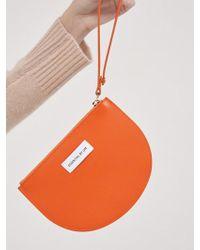 W Concept - [essential By Um] Half-moon Zip Pouch_7colors - Lyst