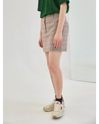 COLLABOTORY - Baama7007m Plaid Mini Skirt - Lyst