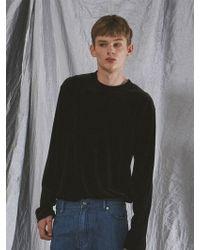OWL91 - Velvet T-shirts Black - Lyst