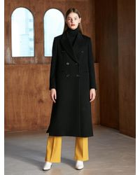 COLLABOTORY - Bacma1001m Classic Trench Coat Black - Lyst