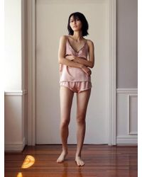 W Concept - Femme Camisole Set - Sunrise Pink - Lyst