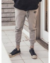 F.ILLUMINATE - [unisex] Warm Active Pants-gray - Lyst