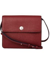 WEMADESOMETHINGGOOD - [unisex]spring Button Clutch Burgundy - Lyst