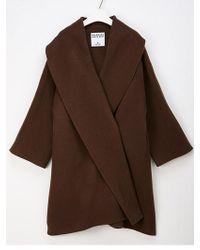W Concept - Alpaca Coat - Lyst