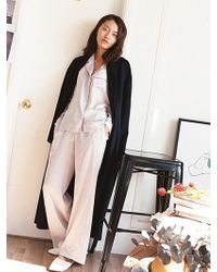 W Concept - Very Pyjama Pants_lux Silver - Lyst