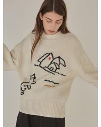 Knit Drawing Classic Ivory Lyst Low w6O7BqP0E