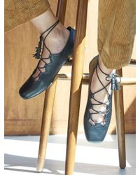 W Concept - Lace Dougie Loafer - Lyst