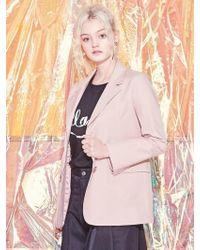 Blank - Soft Tailored Jacket - Pk - Lyst