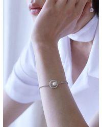Matias - Silver Line Bracelet - Lyst