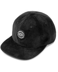 SAINTPAIN - Sp Corduroy Circle Logo Cap Black - Lyst