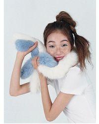 Jin Jin Island - Combo_blue/ivory - Lyst