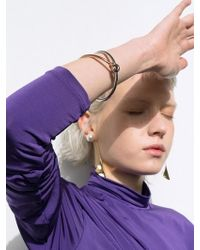 VIOLLINA - Double Bangle R Gold N Silver - Lyst