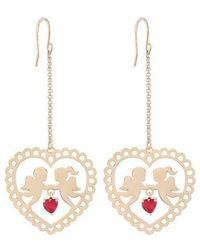 NOONOO FINGERS - Lace Angels Hook Earring - Lyst