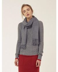 LE CASHMERE - Classic Cable Pullover - Lyst