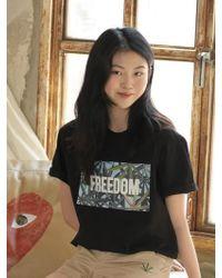 Chubasco   M T Shirt Weed Sb Black M17104[unisex]   Lyst