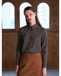 COLLABOTORY - Bacma0001m Vintage Print Soft Shirts Print - Lyst