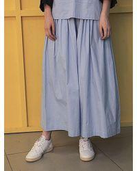 Fleamadonna - Shirring Wide Trousers - Lyst