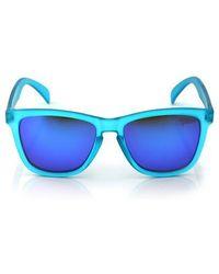 HYBITION - Unify Transparent Matt Blue / Blue Mirror Lens - Lyst