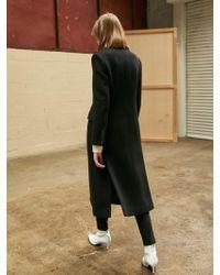 COLLABOTORY - Classic Slim Maxi Coat - Lyst