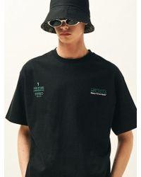SLEAZY CORNER - Scr Half T-shirt Black - Lyst