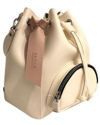 Maison de H - Bucket M Ivory Shoulder Bag - Lyst