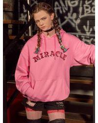VVV - Pink Miracle Hoodie - Lyst