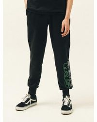 SLEAZY CORNER - Scr Jogger Pants Black - Lyst