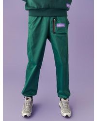 SLEAZY CORNER - Pocket JOGGER Trousers Green - Lyst
