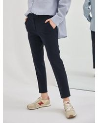 COLLABOTORY - Classic Cigarette Pants_navy - Lyst
