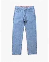 W Concept - Denim Pants - Light Denim - Lyst