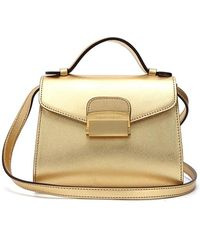 Biker Starlet - Doctors Bag Mini Gold - Lyst