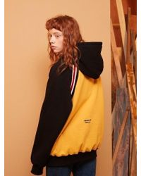 W Concept - [unisex] Bread Time Hoodie Yellow - Lyst
