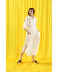 ANOTHER A - Crumpled Shirt Dress 3colors - Lyst