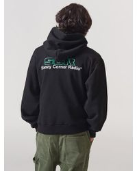 SLEAZY CORNER - [unisex] Scr-logo Hoodie Black - Lyst