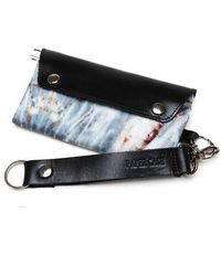 W Concept - Gray Marble Wallet - Lyst