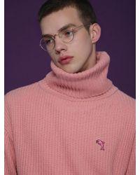 WAIKEI - [unisex]waikei Turtleneck Pink - Lyst