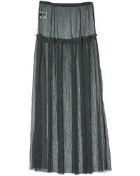 Grace Raiment - See Through Lace Skirt - Lyst