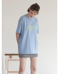 TARGETTO - Tgt Logo T-shirts Sky Blue - Lyst