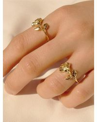 FLOWOOM - Rose Ring - Lyst