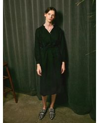 YAN13 - Low Long Dress_black - Lyst