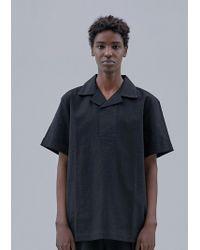 OWL91 - Signature Collar T-shirts_black - Lyst