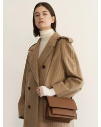 DEMERIEL - Classic Bag Tan-brown Medium - Lyst